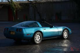 corvette c4 in rare quasar blue lt1 5 7 v8 auto swap swop px