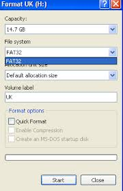 free to convert usb flash drive from fat32 to ntfs