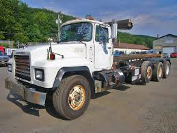 mack trucks for sale 1998 mack rd688s tri axle roll off truck for sale by arthur trovei