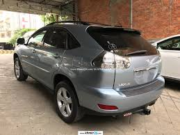 light gray lexus lexus rx 330 2004 light blue full option new arrival in phnom penh