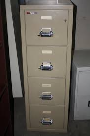 4 Drawer Vertical File Cabinet by Fire King 4 Drawer File Cabinet 78 With Fire King 4 Drawer File