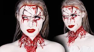 Bloody Mary Halloween Costume Kids Bloody Mary Makeup Tutorial Halloween 2016