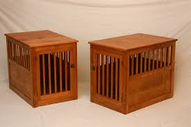 creative dog crate end table u2014 modern home interiors building