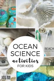 ocean science activities and experiments for kids
