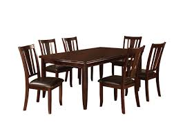 Dining Sets Amazon Com Furniture Of America Anlow 7 Piece Dining Table Set