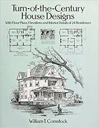 turn of the century house designs with floor plans elevations