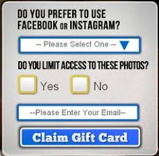 survey for gift cards free 25 itunes gift card instagram survey free gift cards