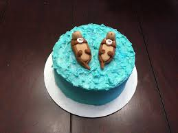 otter cake topper photo collection otter cake ideas and