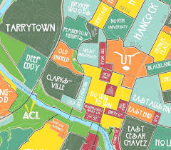Map Of Austin Tx Austin Map Neighborhoods U2013 Parts U0026 Labour