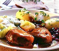 cuisine norvegienne kjøttkaker norvège recettes de cuisine