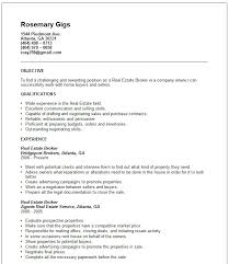 Commercial Real Estate Resume Real Estate Resumes Real Estate Resume Tips Rebuild Your Real