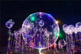 led light up toys wholesale factory wholesale 18 led string lights flasher lighting balloon