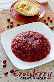 side dish cranberry gelatin mold recipe potpieplease