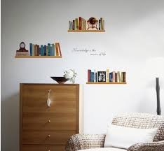 mural wall sticker picture more detailed picture about personalized simple bookshelf wall decals living room study room bedroom removable wall stickers murals