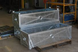 Metal Planter Box by Steel Planter Boxes Dirt Simple