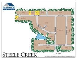 new properties in steele creek eastwood homes