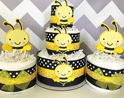 bumblebee decorations bee cake etsy