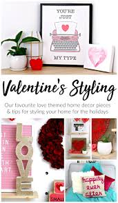 Just Home Decor Southern In Law February Styling My Easy Valentine U0027s Day Themed