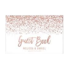guest book wedding gold wedding guest book zazzle