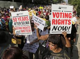 does north carolina voter id law suppress minority votes a