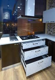 your favorite dark pink color indian style modular kitchen design