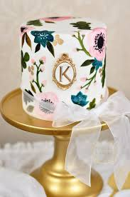 hand painted wedding cakes belle the magazine