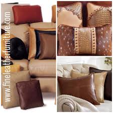 Sofa Pillows by Leather Sofa Pillows 33 With Leather Sofa Pillows Dadoodle Net