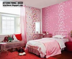 Wall Murals For Girls Bedroom Teenage Bedroom Ideas Bright Colors With Purple Theme Wall