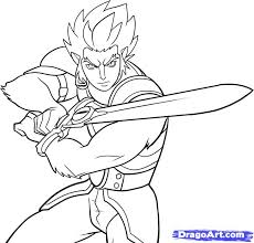 thundercats coloring pages chuckbutt