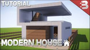 A Small House Minecraft How To Build A Small Modern House Tutorial Easy