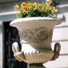 Stone Urn Planter by Cast Stone Planter And Urn Cast Stone Urns And Planters Stone