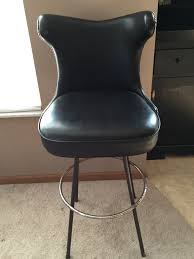 Vintage Leather Chairs For Sale Vintage Leather Tufted Back Bar Stools For Sale Antiques Com