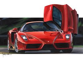 ferrari enzo sketch interview with pininfarina designer maurizio corbi
