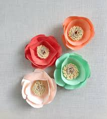 Handmade Flowers Paper - 76 best flowers handmade images on pinterest flower crafts