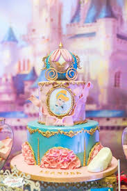 cinderella birthday cake magical cinderella themed second birthday party pretty my party