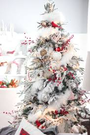 best flocked christmases ideas on artificial