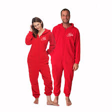 his and hers s day onesies for adults set of 2