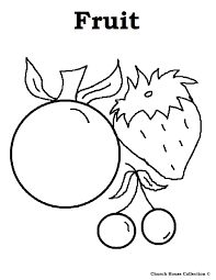 fruit coloring pages farainsabina info