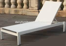 Outdoor Mesh Furniture by Aluminum Frame Outdoor Mesh Fabric Beach Sun Lounger Buy Sun