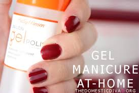 gel polish manicure at home with sally hansen video u2013 the