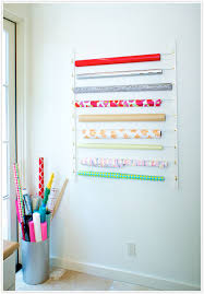 ways to store wrapping paper diy wrapping paper organizer camille styles