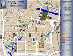 Virginia Tech Parking Map by On The Road Of Retirement Bristol Tennessee And Bristol Virginia