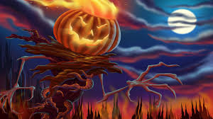 halloween desktop background themes free wallpaper for holiday