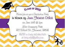 free printable graduation invitations with photo tags free