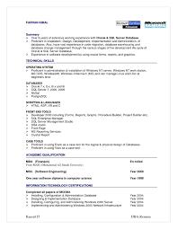 Resume Sample For Customer Service Server Resume Samples Free