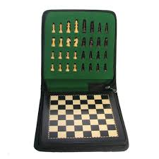 Massachusetts travel chess set images 8 quot black magnetic analysis chess set with case jpg