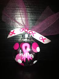 breast cancer ornament my creations ornament