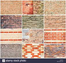 brick walls various types of brick walls stock photo royalty free image
