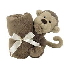 Little Jellycat Comforter Buy Jellycat Bashful Monkey Baby Soother Soft Toy One Size Brown