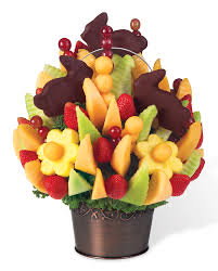 fruit arrangements for time to celebrate has arrived edible